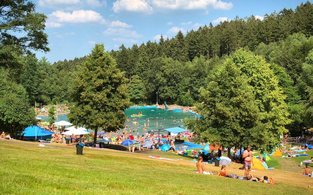 Ausflug zum Waldschwimmbad
